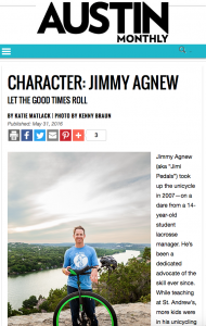 Jimmy Agnew Austin Monthly